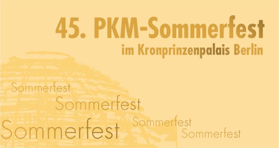 45. PKM-Sommerfest
